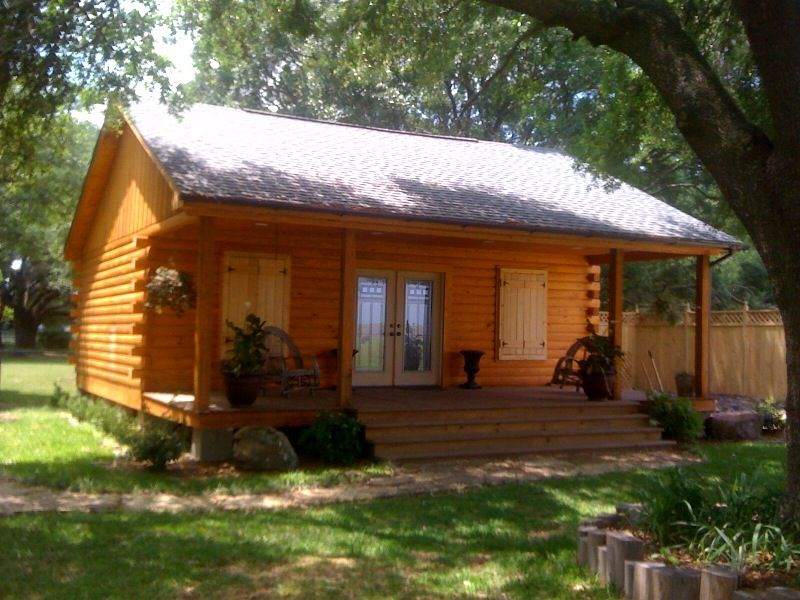 we build log cabins - Small House Kit
